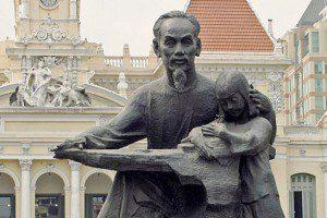 Ho Chi Minh Statue Saigon