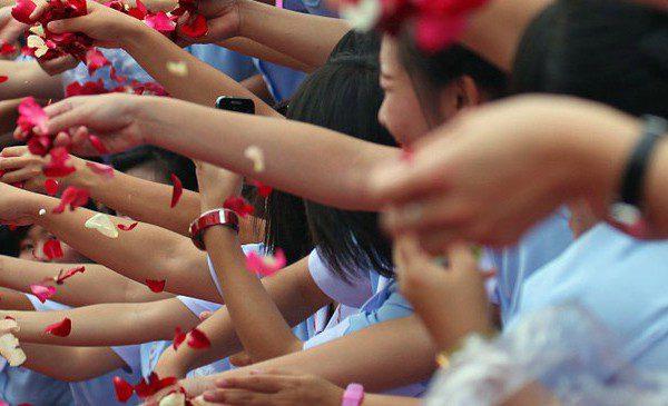 Bangkok - Rosenblütenzeremonie