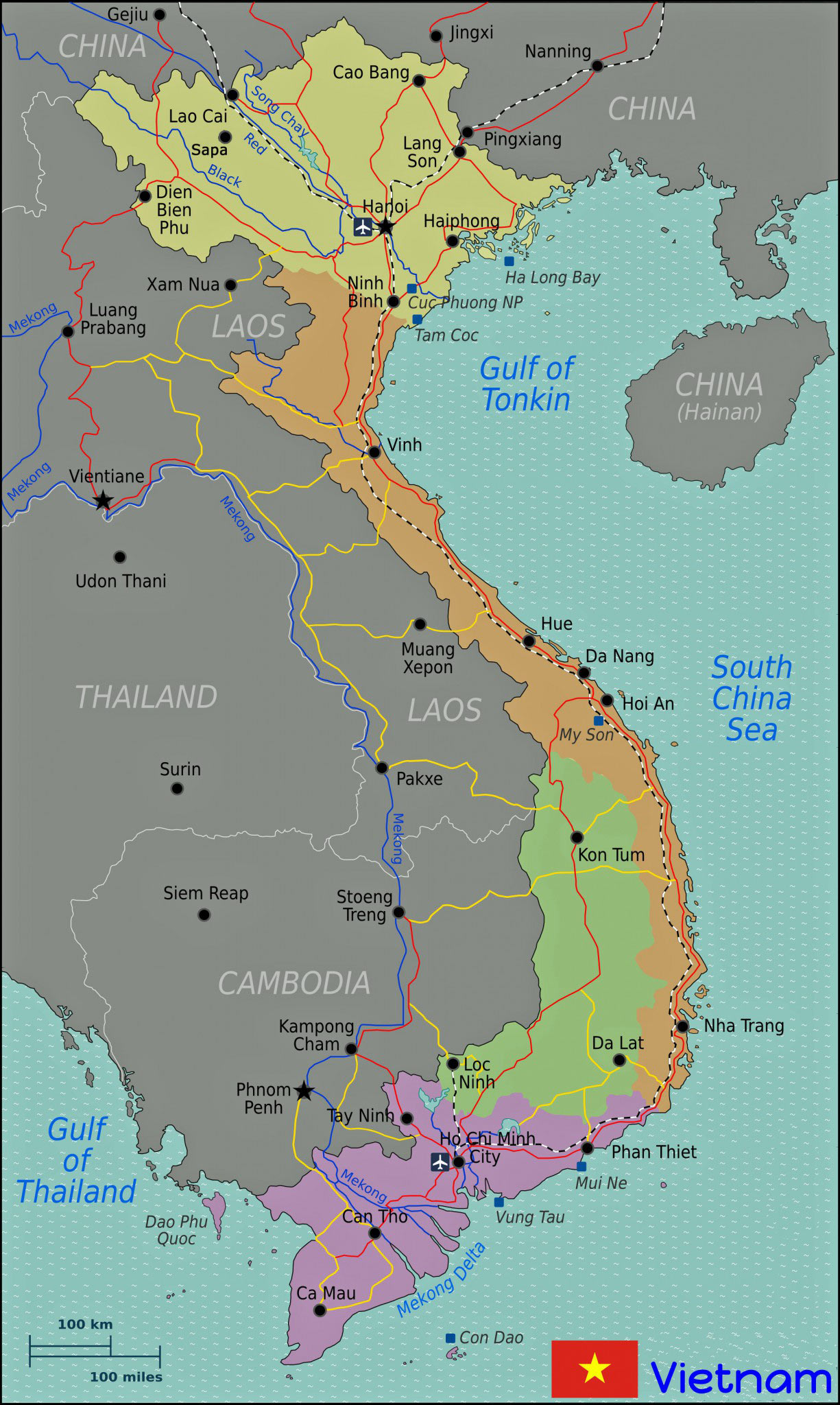 Vietnamkrieg Karte.über Vietnam Vietnam Tours