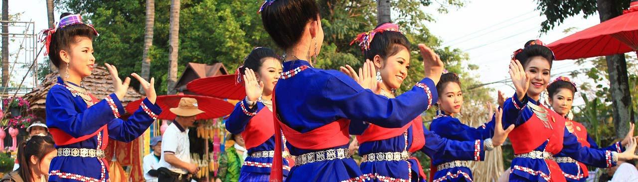 Thailand Traditioneller Tanz