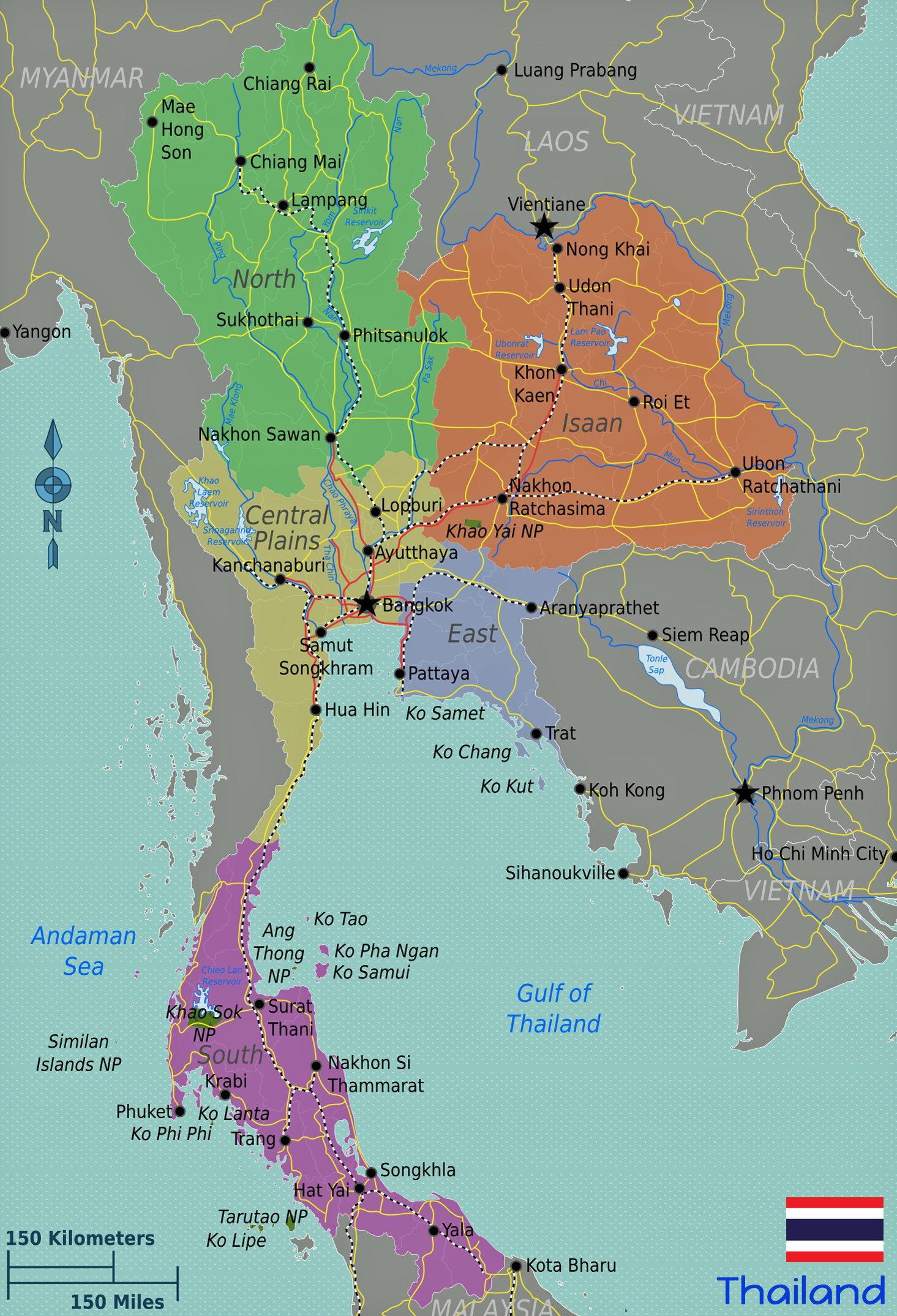 Vietnam Tours Map Thailand Quelle Wikitravel_bearbeitet-1