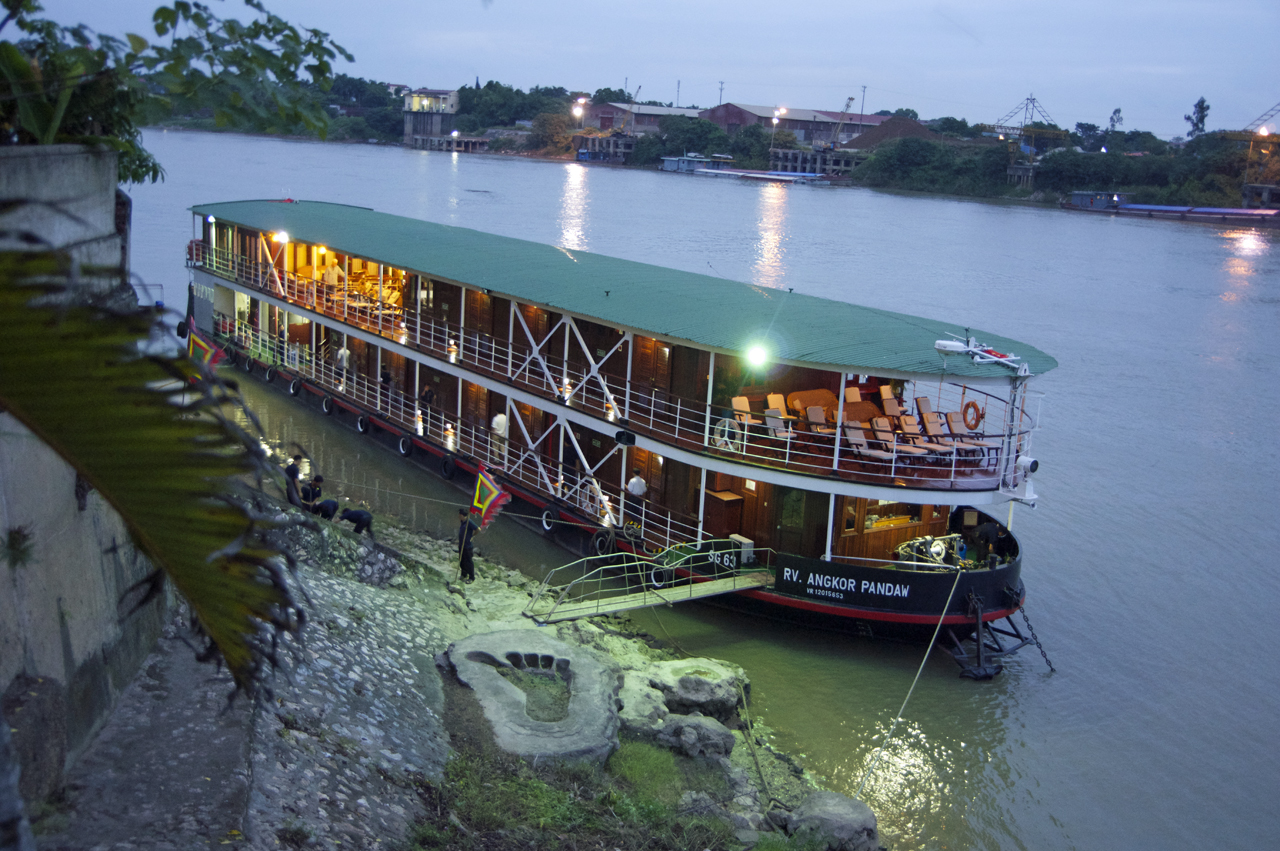Vietnam Tours RV Angkor Pandaw Halong Bay by PANDAW